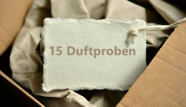 15 Duftproben